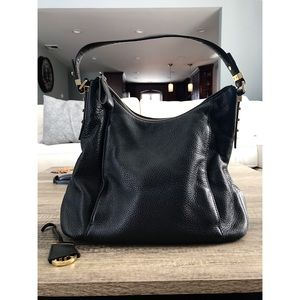 Michael Kors - Bowery Black Shoulder Bag - Large